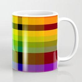 Color wheel plaid Coffee Mug