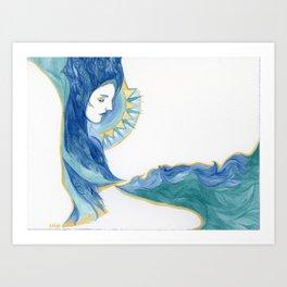 Ocean Overlook Art Print