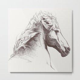 Cheval Metal Print