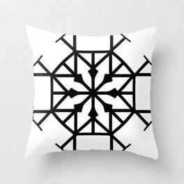 Geometric Roundhouse Throw Pillow