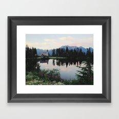 Highwood Lake Framed Art Print