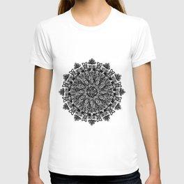 Mandala: Skeleton Leaves T-shirt