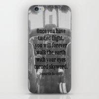 da vinci iPhone & iPod Skins featuring Flight Da Vinci by KimberosePhotography