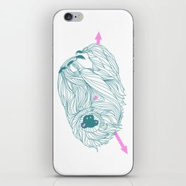 Slow and Inactive iPhone Skin