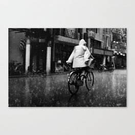 No Hands Canvas Print