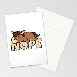 Lazy Horse Stationery Cards