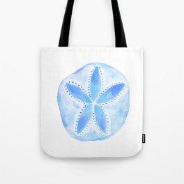 Mermaid Currency - Blue Sand Dollar Tote Bag