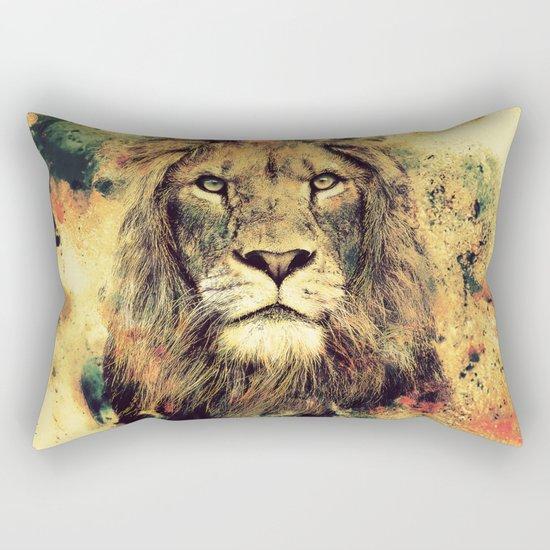 LION -THE KING Rectangular Pillow