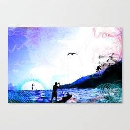 PADDLE DAY  Canvas Print