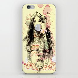 Bubble Gum Bandits iPhone Skin