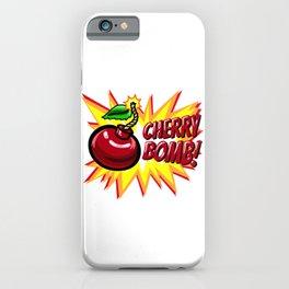 Cherry Bomb! iPhone Case