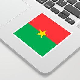 Flag of Burkina Faso Sticker