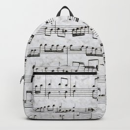 Nota Bene (white) Backpack
