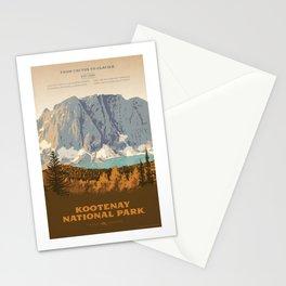 Kootenay National Park Stationery Cards