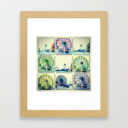 Let us have a go 'round! Framed Art Print