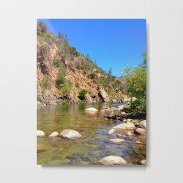 Kern River colorful Metal Print