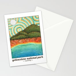 Yellowstone National Park - Unofficial Art Stationery Cards