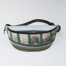 Beach Squirrel Fanny Pack