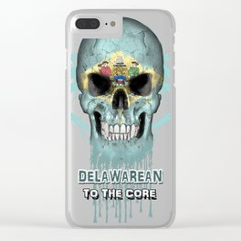 To The Core Collection: Delaware Clear iPhone Case