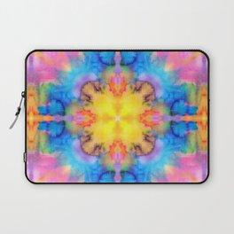 Rainbow watercolors diamond kaleidoscope Laptop Sleeve