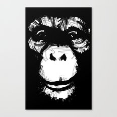 Everything's More Fun With Monkeys! Canvas Print