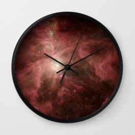 ignition of the hunter's blade | space #03 Wall Clock