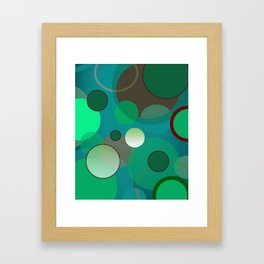 Goin '  Dotty Framed Art Print