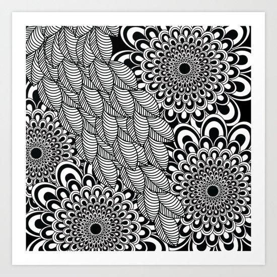 Pattern G Art Print