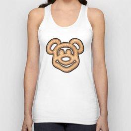 Mickey Mouse Pretzel Unisex Tank Top