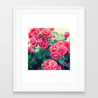 flora Framed Art Prints featuring Flora by Laura Ruth