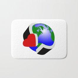 Earth Day Bath Mat