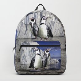 Penguins and Glacier Backpack
