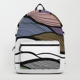 Waving Harmonic Color Fields Backpack