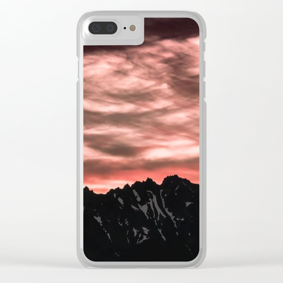 Early Morning Mountains Clear iPhone Case