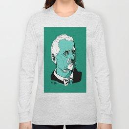 Anton Bruckner Composer contemporary of Wagner Brahms Mahler Ink Portrait Music Organ Art Long Sleeve T-shirt