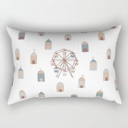On the ferris wheel Rectangular Pillow