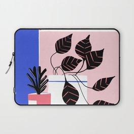 Minimalist mountains with plants Laptop Sleeve