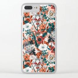 SUMMER GARDEN II Clear iPhone Case