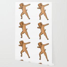 Funny Dabbing Vizsla Dog Dab Dance Wallpaper