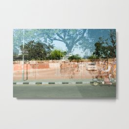 Coral Wall in India Metal Print