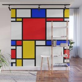 Mondrian Wall Mural