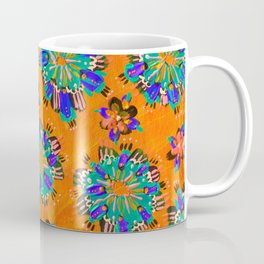 Orange Sundial Coffee Mug