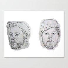 Modest Beards Canvas Print