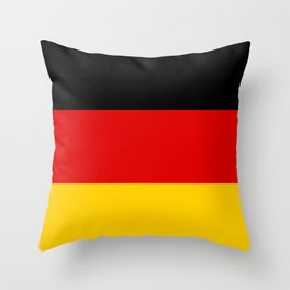 Flag: Germany Throw Pillow