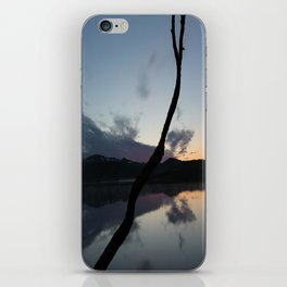 Sunset on lake, Nature Photography, Landscape Photos, sunset photos iPhone Skin