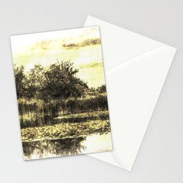 Lily Pond Vintage Stationery Cards