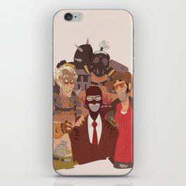 what spy hates the most iPhone Skin