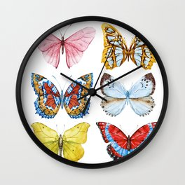 Butterflies 01 Wall Clock