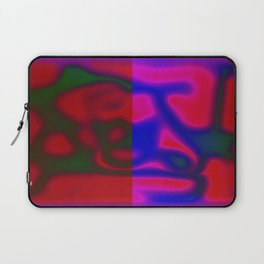 Red Color Leak Laptop Sleeve