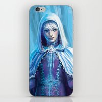 jack frost iPhone & iPod Skins featuring Jack Frost by franzkatter
